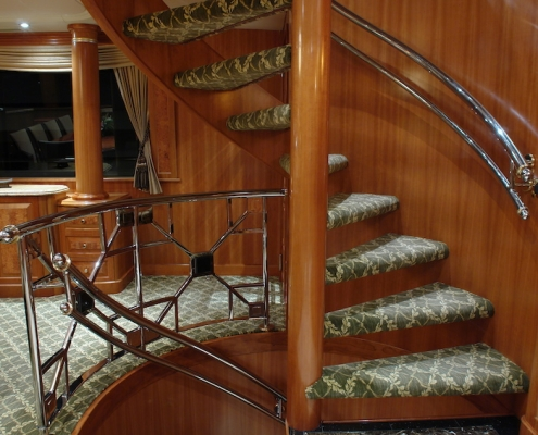 Tanzanite Stairs Before - Innovative Creations