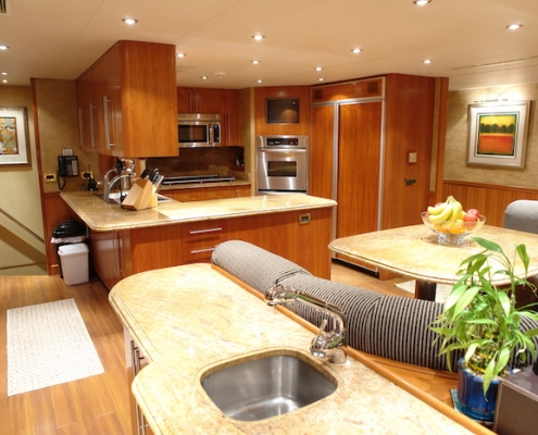 Tanzanite Galley Before - Innovative Creations