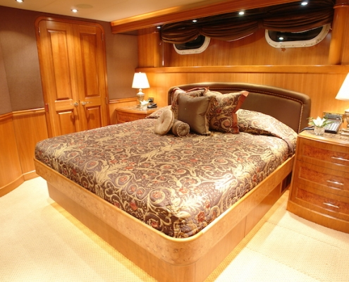 Tanzanite King Stateroom 1 of 4 Before - Innovative Creations