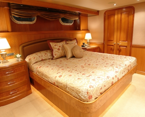 Tanzanite King Stateroom 2 of 4 Before - Innovative Creations