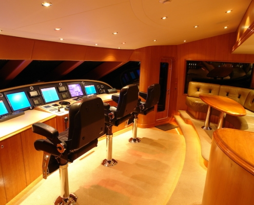 Tanzanite Pilothouse Before - Innovative Creations